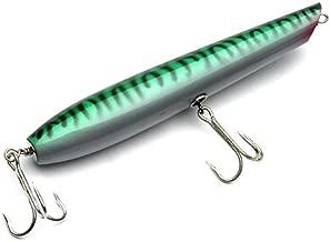 Stan Gibbs Lures Pencil Popper Green Mackerel 8.5