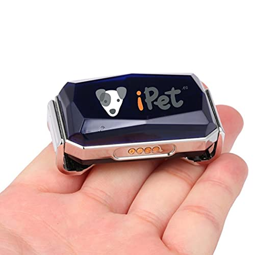 iPet tracker - localizador GPS para PERROS - SIN CUOTAS | Collar rastreador con chip GPS para perros - puedes poner tu propia SIM | App, atención y SSTT en ESPAÑA y español
