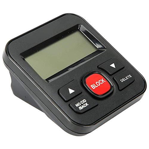 LDDZB Bloqueador de Llamadas de Bloqueador de teléfono, Lista Negra Blanca filtrando telemarketing Bloqueador de bloqueadores, protección de Seguridad y Vida Secreta para teléfono Fijo
