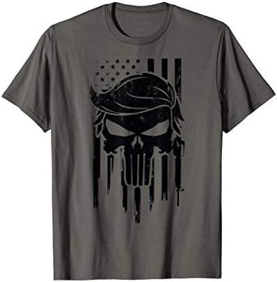 Trump Skull Hair Skull Hair Trump President Donald Trump T Shirt product image