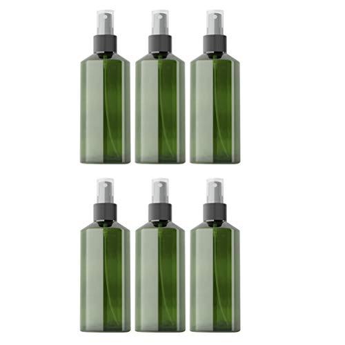 Mobestech 6 Piezas de 150 Ml de Envases Rellenables Vacíos Pulverizadores de Botellas de Spray de Maquillaje de Plástico para Aceites Esenciales Productos de Limpieza (Color Aleatorio)
