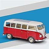 Kit Juguetes Coches Metal Resistente para Volkswagen T2 1972 1:24 Simulación De Aleación Fundida A Presión Modelo De Autobús Regalo para Niños Maravilloso Regalo (Color : D)