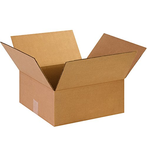 "100 lbs 14/"" x 14/"" x 8/"" Heavy Duty Double Wall Cardboard Corrugated Box"