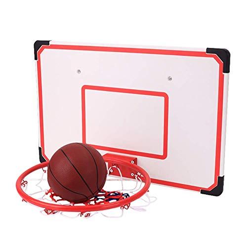 AYCPG Wandmontage Basketbal Tor Hoop mit Gummiball, Home Kids Basketball Spiele Over-The-Tür-Entwurf for Schlafzimmer/Spielzimmer lucar