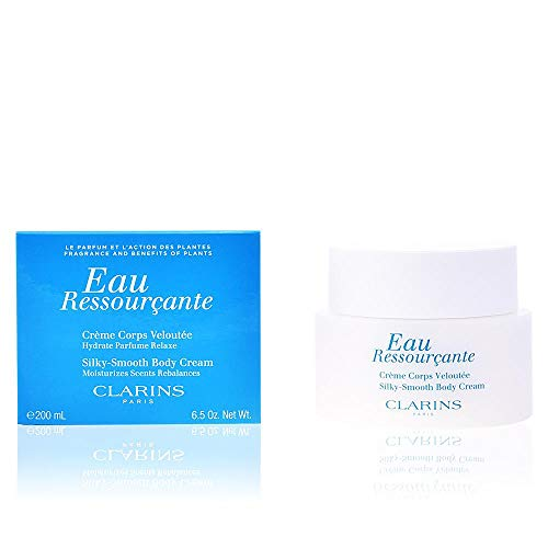Clarins Eau Ressourc femme/women, Silky-Smooth Body Cream, 1er Pack (1 x 200 g)