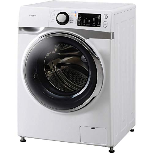 Iris Ohyama HD71 Machine Wash, Drum Type, 16.5 lbs (7.5 kg), Warm Water, Wash Sebum Stains, Room Drying, Water Saving, Width 23.4 inches (595 mm), Depth 26.4 inches (672 mm)