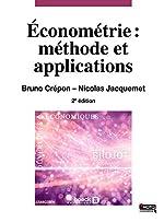 Econométrie - Méthode et applications de Bruno Crépon