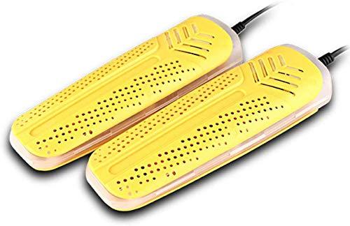CHNHG Leichtgewicht Schuhtrockner/Stiefel-Trockner-für Ski, Snowboard, Triathlon, Fahrrad, Golf und Motorrad-Schuhe, Gelb-TimingFunction (Color : YellowTimingFunction)