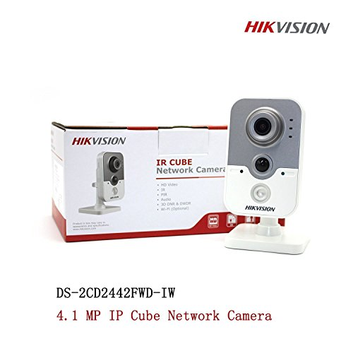 Hikvision DS-2CD2442FWD-IW 4MP 2.8mm IP PoE Indoor IR Wireless WiFi Cube Camera with WDR – English Retail Version