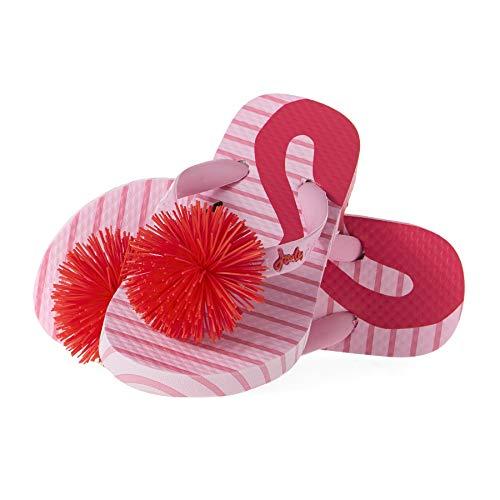 Joules Mädchen Flip Flop Flipflop, Rosa Flamingo, 31 EU