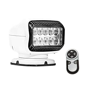 Golight 20004GT Radioray LED Searchlight with Wireless Handheld Remote-White