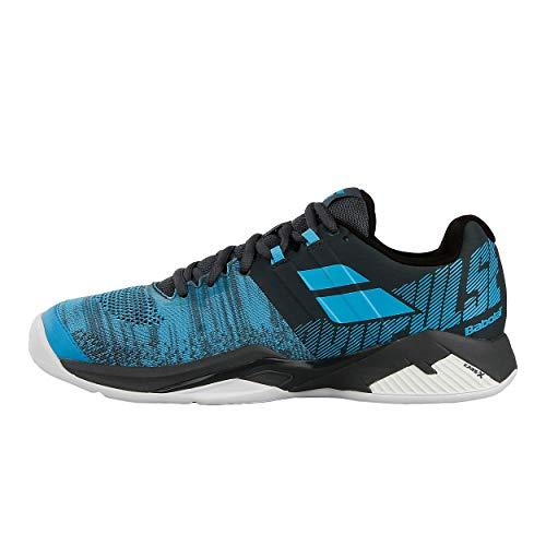 BABOLAT Propulse Blast Clay Men, Zapatillas de Tenis Hombre, Grey/Blue, 36 EU