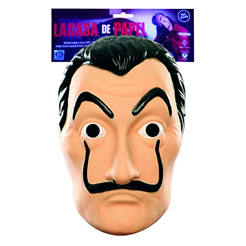 Original Cup - Officieel Masker van Salvador Dali, La Casa De Papel Masker, Dali Masker - Halloween-masker, Halloween-kostuumfeestje