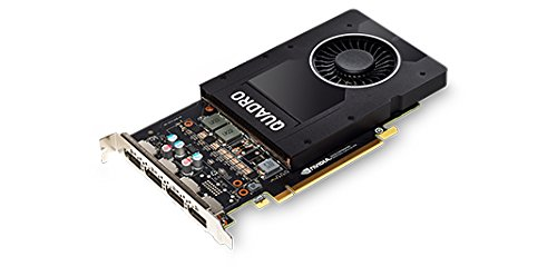 LENOVO ThinkStation NVIDIA Quadro P2000 5GB GDDR5 DPx4 Graphics Card with HP Bracket