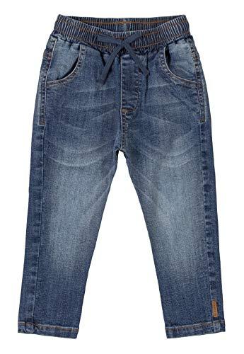 Calça Jeans com Lavagem, Up Baby, Meninos, Azul Escuro, G