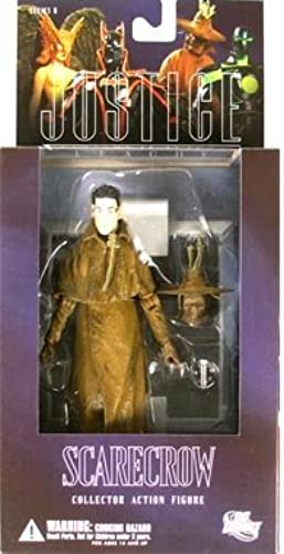 DC Direct Justice League Alex Ross Series 6 Action Figure Scarecrow by DC Direct (English Manual)