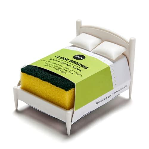 OTOTO Design Bett für Schwamm - Küchenschwamm Aufbewahrung, Weiß
