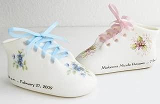Classic Bisque Porcelain Baby Keepsake Shoe (Pink)