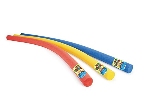 Swimming Water Woggle Noodle Red Blue or Yellow Swim Aid