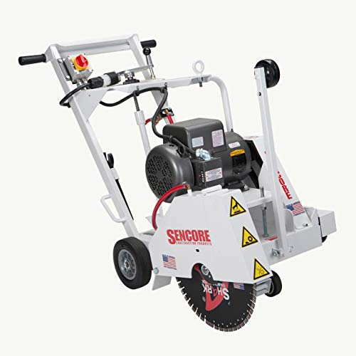 SENCORE 18 INCH ELECTRIC POWERED WALK-BEHIND FLAT SAW