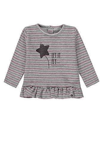 Bellybutton Kids Bellybutton Kids Baby-Mädchen Tunika 1/1 Arm Bluse, Mehrfarbig (Y/D Stripe 0001), 80