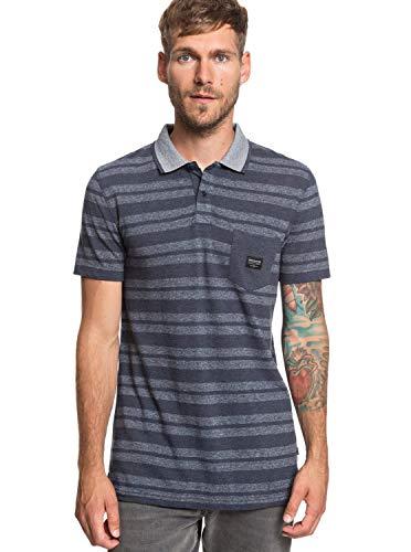 Quiksilver Remember When - Short Sleeve Polo Shirt for Men - Männer