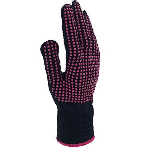 JulySeeYouz hittebestendige handschoen, 1 stuk professionele hittebestendige handschoenen warmte-isolatie blokkeren handschoen voor bescherming terwijl haar styling krullen rechte tool