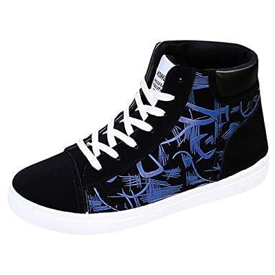 Goddessvan Men's Summer of Han Edition Vogue Student Board Shoe High-top Graffiti Casual Shoes