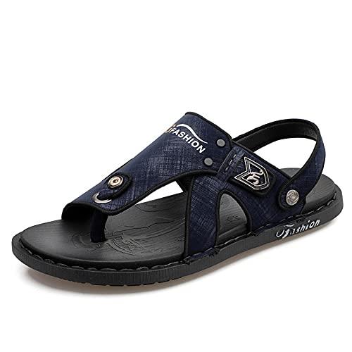 Yumanluo Hombre Verano Zapatillas Flip Flops Sandal Zapatos de Playa y Piscina