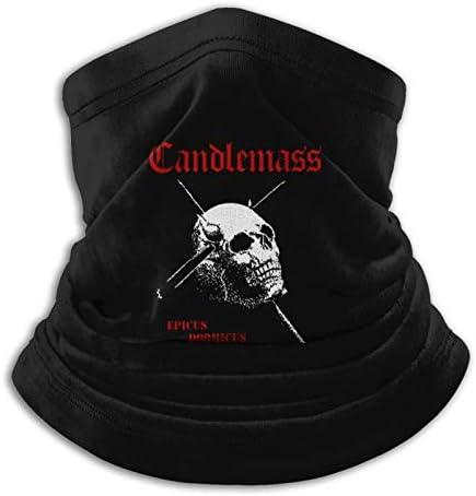 Candlemass Epicus Doomicus Metallicus Balaclava Neck Gaiter Reusable Mask Scarf for Men Women product image