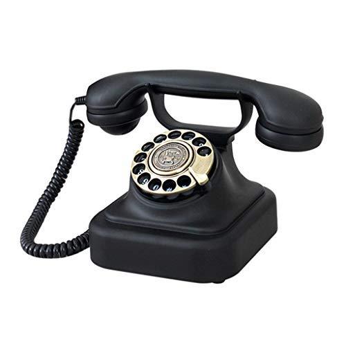 MEVIDA Europese retro telefoon vintage platenspeler wijzerplaat telefoon vaste net antieke antieke telefoon