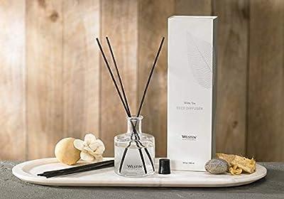 Westin White Tea Reed Diffuser - Home Fragrance Set with Signature White Tea Scent - 5 oz.