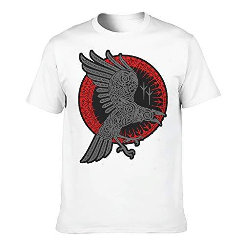 Glatt Verschiedene Typen Kurzarm-T-Shirt-T-Shirt-Oberteil für Freunde White 2XL