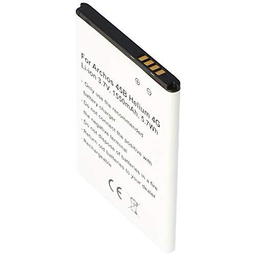 Akku nur passend für den Archos 50c Neon Akku AC1850A, 45 Helium 4G, 45b Helium 4g