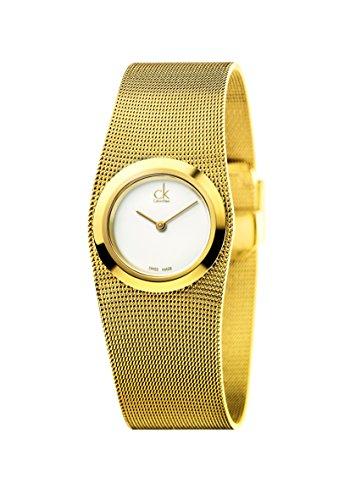 Calvin Klein Reloj Analógico para Mujer de Cuarzo con Correa en Acero Inoxidable K3T23526