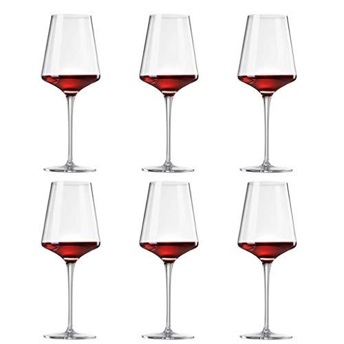 Copas De Vino Tinto, Copas para Vino Tinto Exquisit, De 450 Ml, Juego De 6, Moderno Campamento De Fiesta En Casa Creativo (Size : 6 Pieces -3)