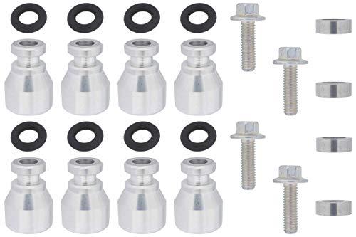 ICT Billet Fuel Injector Spacer Set of 8 Truck Intake Manifold to LS3 Injector Adapter ICT Billet Designed & Manufactured in the USA LS3 L33 LM4 LM7 LR4 LQ4 LQ9 551287-LS-036