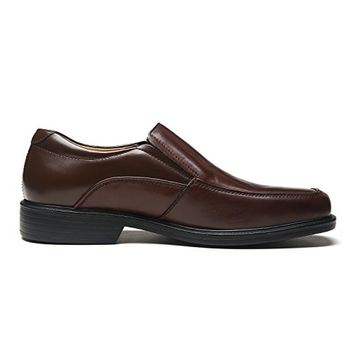 La Milano Wide Width Mens Oxford Shoes Men's Dress Shoes EEE Extra Wide (9.5 X-Wide, Wide-3-brown)