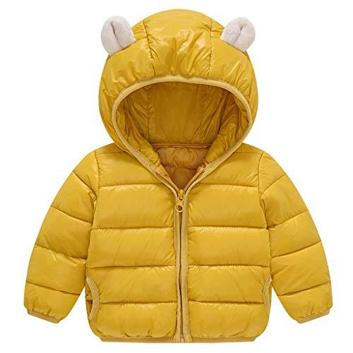 Donsjas voor kleine kinderen, baby, jongens, meisjes, winterjas, gewatteerde jas, lichtgewicht gewatteerde jas 2-3 Jahre C