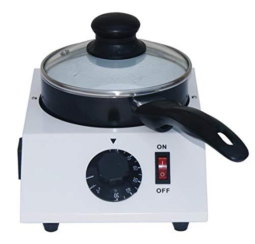 Hansemay, termosifone elettrico per sciogliere il cioccolato, in ceramica, antiaderente, 40 W (porta singola)