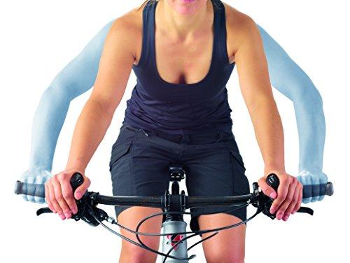 Mountain Bikes SQlab 411 inner bar ends, ergonomic handlebar extensions.