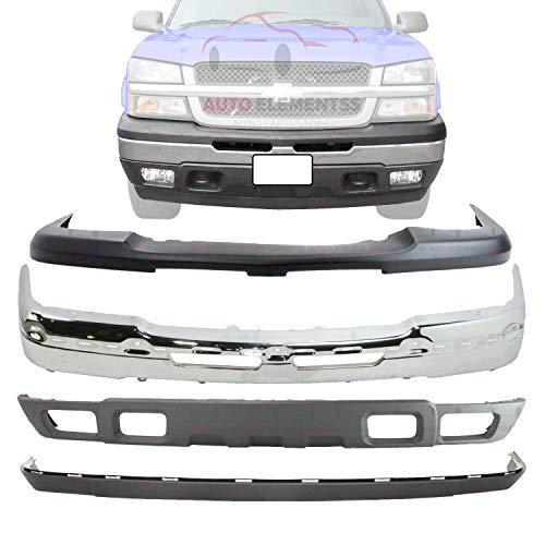 03 chevy silverado front bumper - 9