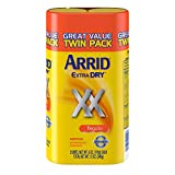 Arrid XX Extra Dry Antiperspirant Deodorant, Regular, Twin Pack (two 6oz. cans) Packaging May Vary
