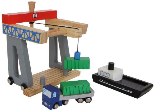 Small foot company - 8551 - Accessoire De Modélisme - Terminal De Containers