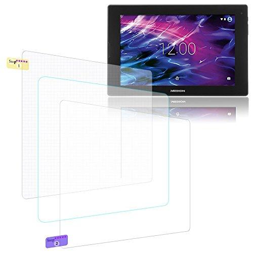 UC-Express Bildschirmschutz-Folie Medion Lifetab S10366 S10365 S10352 P10325 P10356 Schutzfolie 2X klar Universal Folie