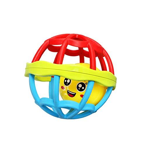 bulingbuling Bebé Confunde La Bola De Goma Suave Juguetes Bebés Mano Shaker Juguete Traqueteos del Bebé Juguetes para El Infante Recién Nacido Niño De Tamaño Pequeño