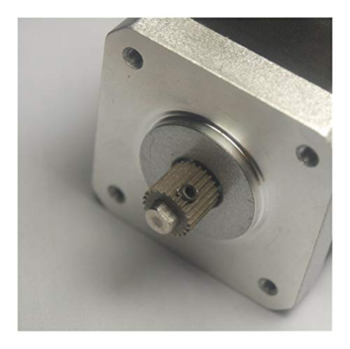 GOUJI Liupin Store 2pcs * Zortrax M200 3D Printer Spare Parts/accessories Extruder Drive Gear Feed Gear Easy to install