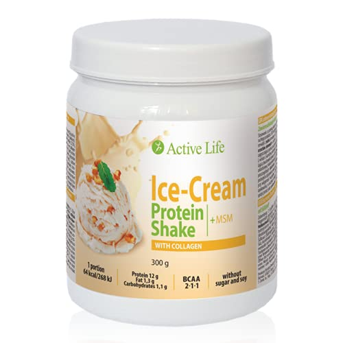 Protein Shake With Collagen - Ice-Cream, 300g | Tiande