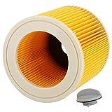 Filtro per aspirapolvere umido e secco Accessori per pulitori ecologici di alta qualità Filtro Filtro facile da installare per la pulizia domestica dell'aspirapolvere
