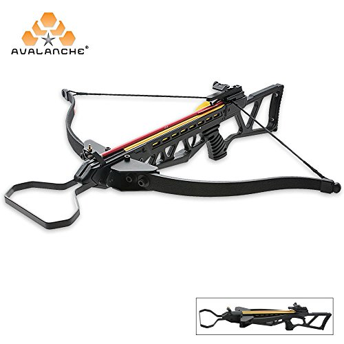 K EXCLUSIVE Avalanche Folding Take Down Survival Crossbow 150 lb